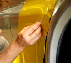 snijden carwrap