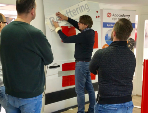 Applicatie- en belettering technieken