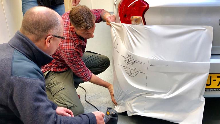carwrap bumper