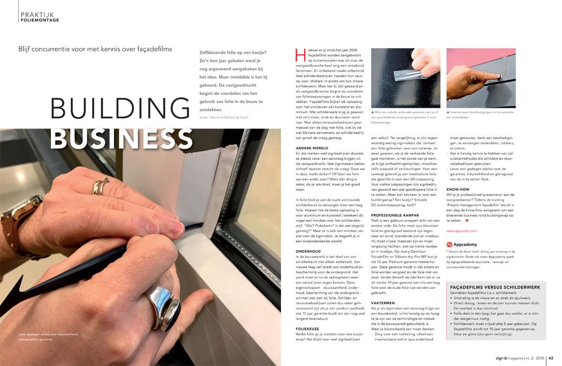 building business met facadeflm