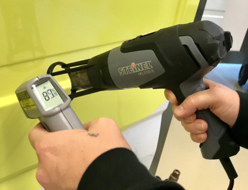 carwrappen met heatgun of infrarood?