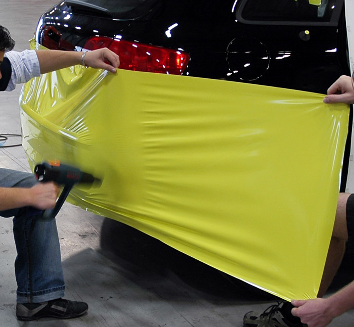 heatgun carwrap