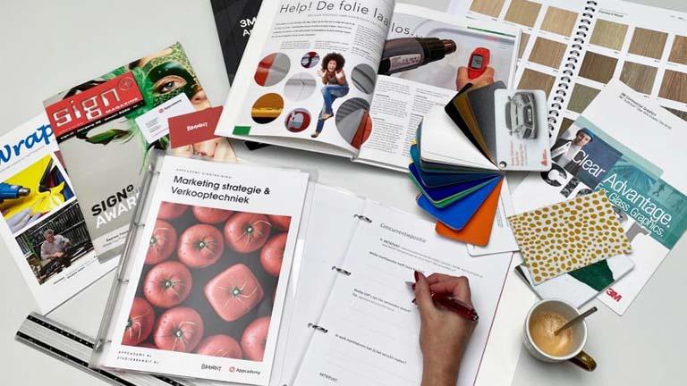 marketing en verkoop voor sign ondernemers